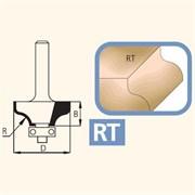Фреза кромочная радиусная хвостовик 12мм DIMAR