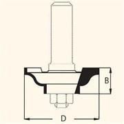 Фреза пазовая D=46,0мм В=15мм DIMAR