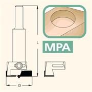 Сверло чашечное с регулируемым диаметром хв. 10-12