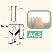 Сверло чашечное левого вращения хвостовик 10 мм DIMAR