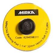 Подошва шлифовальная 32мм QUICK LOCK, липучка,  мягкая (10 шт в уп)