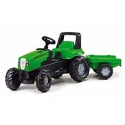 Трактор с педалями и прицепом Junior Track VIKING