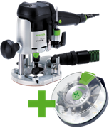Фрезер OF 1010 EBQ-Plus + Box-OF-S8/10 Festool