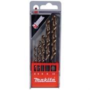 Набор сверл для металла 4-10мм HSS M-Force 5шт Makita