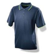 Мужская рубашка поло синяя Festool M, L, XL, XXL