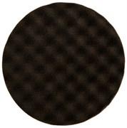 Полировальный диск пор. 77мм черный 2шт.