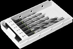 Свёрло-бит в кассете DB 4-10 CE 6шт. по дереву Festool