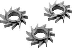 Фрезы дисковые косозубые HW-FZ 35шт.