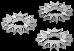 Фрезы дисковые прямозубые HW-SZ 12шт.