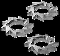 Фрезы дисковые косозубые HW-FZ 12шт.
