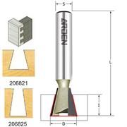 Фреза ласточкин хвост 8-18° хвостовик 6-12мм серия 206 ARDEN