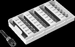 Биты стандартн., компл. BITS + BHS 65 CE TL 24x Festool