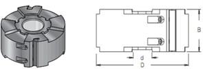 Фреза строгальная S=30 D=125x50 DIMAR