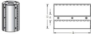 Фреза строгальная S=40 D=125мм B=80-230мм DIMAR