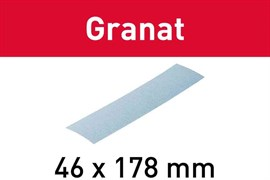 Шлифлист 46х178мм/0 P040 Granat
