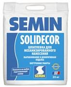 Шпатлевка SOLIDECOR декоративная для воздушного нанесения Semin