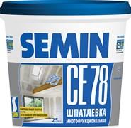 Шпатлевка CE 78 (универсальная, синяя крышка) Semin