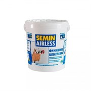 Шпатлевка AIRLESS CLASSIC  финишная для безвоздушного нанесения 25 кг Semin (белая крышка)
