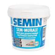 Клей SEM-MURALE для гибких декоративных покрытий Semin