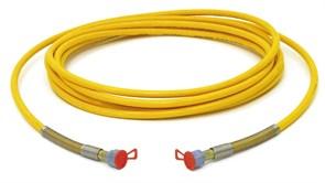 Шланг DN6 27 MPa 1/4 дюйма 30 метров жёлтый Wagner