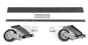 Дополнительный набор к отвалу 5927551-01 (P 525D): опорные колёса и резинованакладка - лента