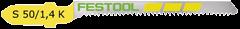 Пилки для лобзика S 50/1.4 K/5 5шт. Festool