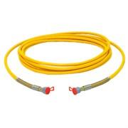 Шланг DN10 25 MPa 3/8 дюйма 2.5 метра жёлтый Wagner