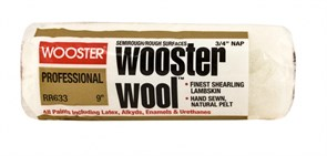 Валик малярный WOOl 1/2-3 Wooster