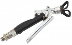 Пистолет для шпатлевки прямоточный черный Aspro