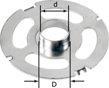 Кольцо копировальное KR-D 17,0/VS 600-SZ 14 Festool