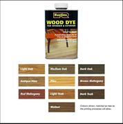 Тонировка для дерева Wood Dye Red Mahogany (Красный махагон)