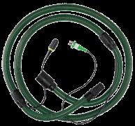 Шланг всасывающий D27x3.5m-AS с кабелем +