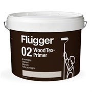 Грунт пигментированный Flügger 02 Wood Tex Priming Paint (Grundmaling)