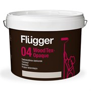 Краска Flügger 04 Wood Tex Opaque (98 Aqua, Täcklasyr)