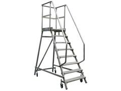 Лестница - платформа, ограждение 1,1 м,