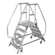 Лестница - платформа двухсторонняя, ограждение