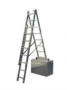 Трехсекционная универсальная лестница с допфункцией Универсальная линия для частного использования и малых предприятий