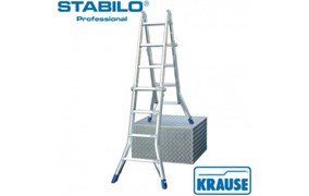 Шарнирная телескопическая лестница Промышленная линия для профессионального применения в строительстве и индустрии