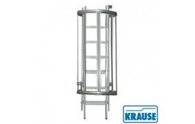 Стационарная лестница для оборудования. алюм,