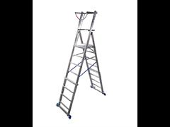 Телескопическая лестница с платформой Промышленная линия для профессионального применения в строительстве и индустрии