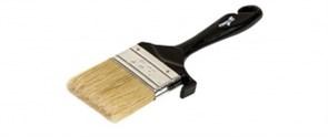 """Блок-Кисть для защитного окрашивания деревянных поверхностей искуственная щетина 4"""" Pentrilo"""