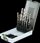 Сверло набор Centrotec 3-10мм с держателями 10шт. Festool