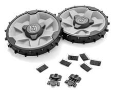 Колеса с утяжелением (2х500г) и комплект колёсных щёток (420, 440, 430X)