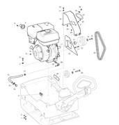 Запчасти на двигатель Lombardini LG 400 Husqvarna