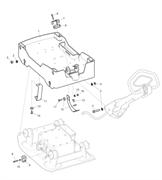Запчасти на пластину двигателя Lombardini LG 400 Husqvarna