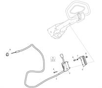 Запчасти на дроссельную заслонку Honda Husqvarna