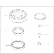 Запчасти на эксцентриковый элемент Lombardini LG 300 Husqvarna комплект