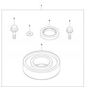 Комплект для ремонта эксцентрикового элемента LF 100 L Husqvarna