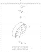 Комплект для ремонта амортизатора LT 8005 Husqvarna