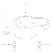 Комплект для ремонта амортизатора LT 6005 Husqvarna